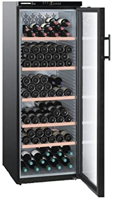 Liebherr WTB 4212 - wine coolers (freestanding, Black, 5 - 18 °C, Black, SN-ST, A) from Liebherr