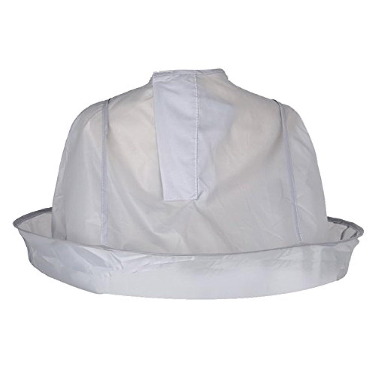 合理化確かに覚えているMSmask クローク傘ケープ理容室カッティングヘアー DIYサロンホーム理髪ケープシルバー