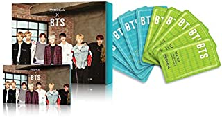 MEDIHEAL X BTS Facial Mask Sheet Special Set/Mask Sheet 10ea + BTS Photocard 14ea (4-Edition Package) (Skin Soothing Care)