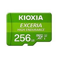Kioxia 256GB microSD Exceria 高耐久性 フラッシュメモリーカード U3 V30 C10 A1 読み取り 100MB/s 書き込み85MB/s LMHE1G256GG2