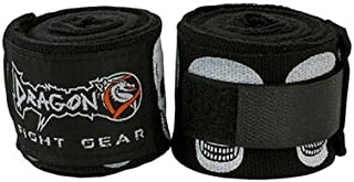 Dragon Do Hand Wraps Best for Muay Thai, MMA, Kickboxing, Training, Martial Arts, Mexican Style, Boxing Hand Wraps (Pair)
