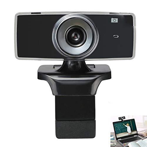 DDELLK A2 webcam, USB 2.0 480P, laptop camera voor conferenties en videocall, autofocus, helder stereo-geluid, ingebouwde microfoon, streaming-opname