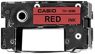 2T55165 - Casio TR-18RD Red Ribbon Cartridge