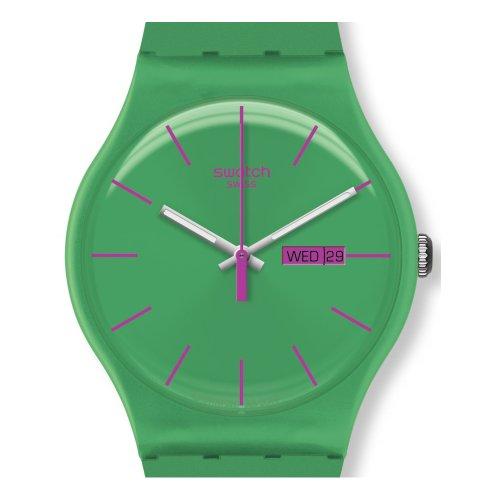 Swatch Unisex-Armbanduhr Analog Plastik SUOG704