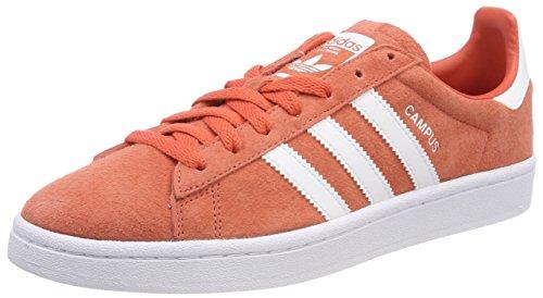 adidas Herren Campus Fitnessschuhe, Orange (Esctra/Ftwbla/Ftwbla 000), 41 1/3 EU