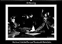 Mevlana's Weisheiten und tanzende Derwische. (Wandkalender 2022 DIN A2 quer): Schwarz-Weiss-Fotos der tanzenden Derwische (Monatskalender, 14 Seiten )
