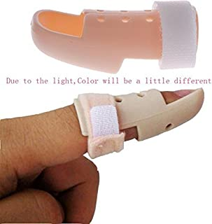 Niome New Plastic Mallet DIP Finger Support Brace Splint Joint Protection Injury 01 48-53mm