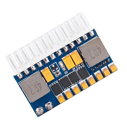 Módulo de fuente de alimentación ATX de 24 pines de entrada de CC-ATX PSU 12V DC Junta 250W para Mini HTPC ordenador POS Máquina