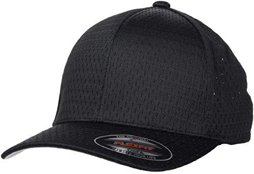 Flexfit Athletic Mesh Cap, Black, one Size