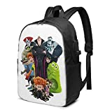 Backpack Bookbag Laptop Business Travelpack Water H-Otel Tran-Sylvania Resistant Pack With Usb Charging Port