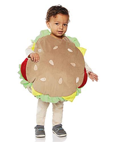 Horror-Shop Hamburger Baby- & Kleinkinderkostüm für Fasching XL