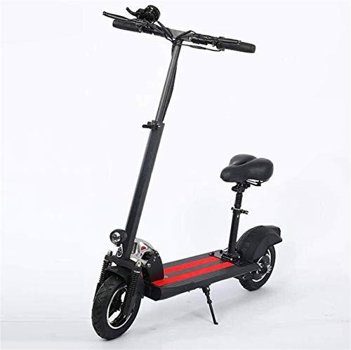 Bicicleta eléctrica de nieve, Bicicletas eléctricas rápidas for adultos portátil Kick Ciudad De trayecto Vespa con mando a distancia Sistema antirrobo Motor 500W, pantalla LCD, a 50 Resistencia, Veloc