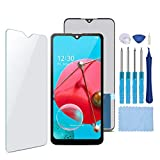 XR MARKET Compatible with LG K51 Screen Replacement, 6.5 Inch LCD Display Touch Screen Digitizer Assembly Set with Repair Tools Kit (Black NO Frame)