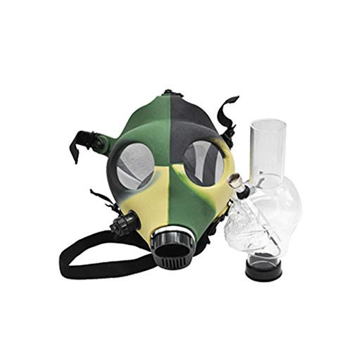 Maske Huka Bong Silicon Schädel-Form-Gasmaske Bong Rauchen Wasser Tabak Shisha Für Party Kostüm Und Party Fun
