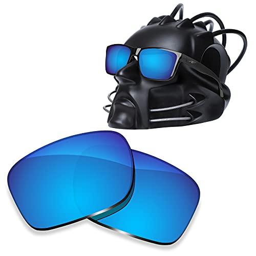 ToughAsNails Reemplazo de lente polarizada para Arnette Witch Doctor AN4177 Sunglass - Más opciones, Hielo Azul, Talla única