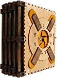 Codex Silenda Puzzle Book, 3D Wooden Puzzle Difficulty Level 10 Brain-Burning Puzzle, Decompressing Puzzles for Kids Adults Brain Teasers Toy Educational Games Gift