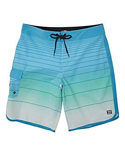 BILLABONG Damen 73 Stripe Pro Boardshorts, blau, X-Large/39