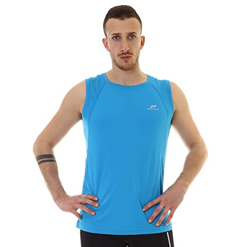 Pro Touch Ikaros II Shirt Homme, Blue, FR (Taille Fabricant : XL)