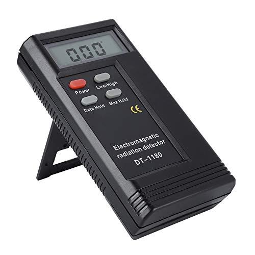 Detector de medidor de Gauss de campo magnético de alta calidad, medidor de electromagnetismo DT-1180 de fácil operación, para dormitorio, oficina, sala de control, sala de computadoras