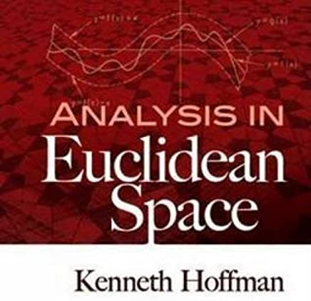Read PDF Analysis in Euclidean Space (Dover Books on