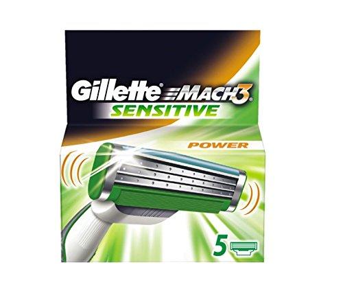 Gillette MACH3 Sensitive Power Klingen 5 Stück