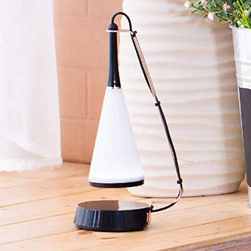 Apliques Pared Lámpara de mesa de audio Bluetooth Led Eye la tabla de la lámpara de la lámpara de sonido dormitorio Estudio regalo creativo de la lámpara de tabla, Negro, Ordinaryparagraph, Tamaño: Wi