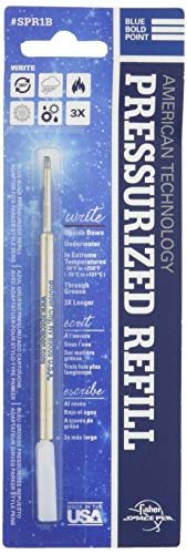 Fisher Space Pen Blue Bold Point Pressurized Refill (SPR1B)