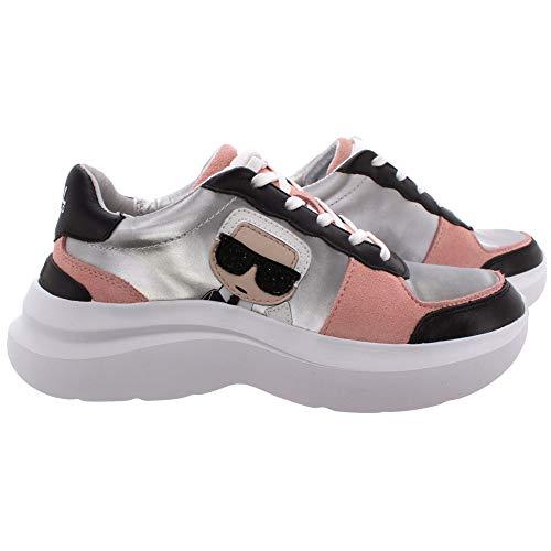 Karl Lagerfeld Damen Sneakers KL61830 40M Textile Multi Synthetisch