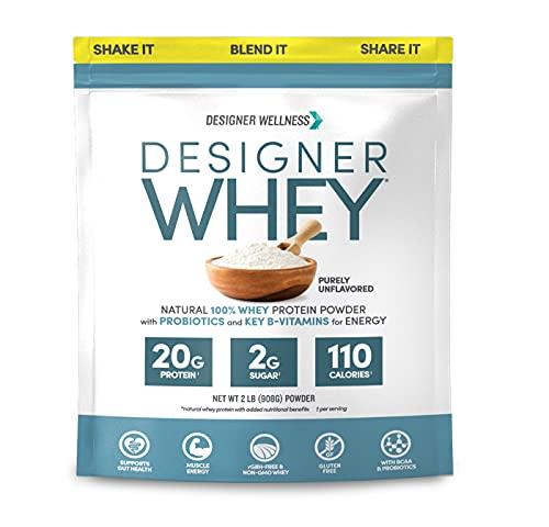Designer Protein Whey Powder, Non GMO, Made in USA...