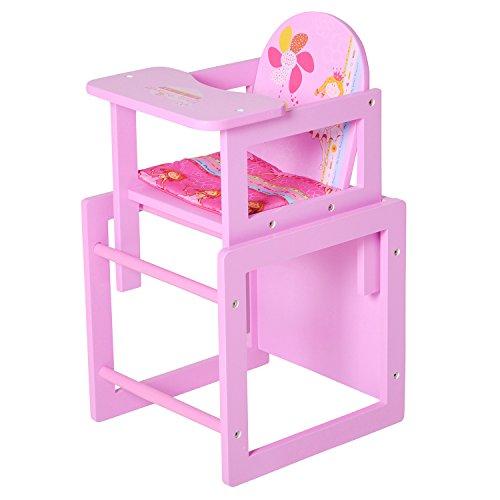 "Knorrtoys 67004 - Puppenhochstuhl - \""My Little Princess\"" pink"