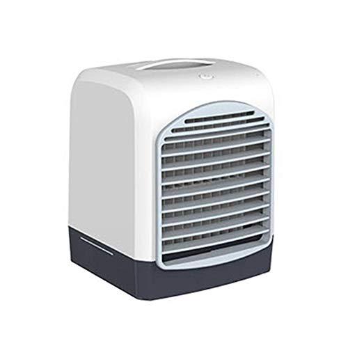 Terynbat - Mini ventilador de refrigeración portátil con carga USB, ventilador de aire acondicionado de escritorio, apto para la oficina en casa (caja de color)