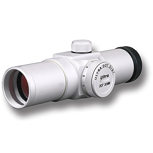 Ultra Dot ULDT-0304S Red Dot Sight, Silver, 30mm