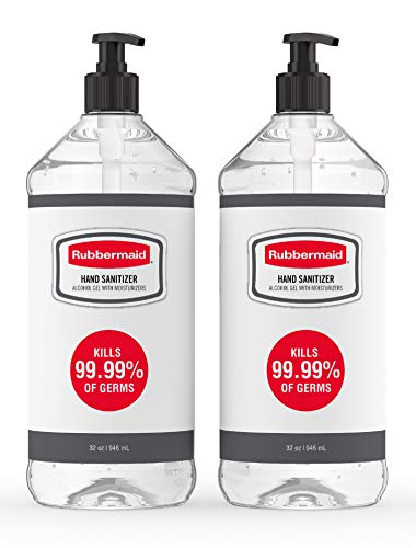 (Promo Diskon 40%) 2 Botol Pembersih Tangan Rubbermaid Gel 64oz Total $ 16.88