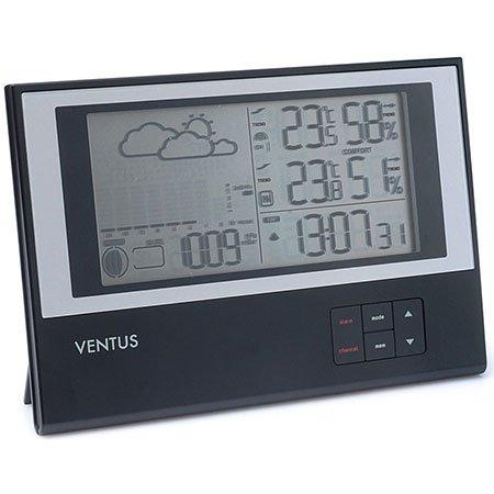 Ventus Funk-Wetterstation W636, inkl. Außensensor
