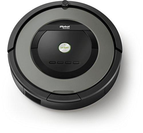 iRobot Roomba 800 Series 866 Robot Vacuum Cleaner Black & Grey