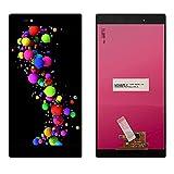 Pantallas LCD para teléfonos móviles 6.44'Mostrar Pantalla táctil digitalizador/Ajuste para Sony Xperia Z Ultra Pantalla XL39H XL39 C6833 (Color : Black Without Frame)