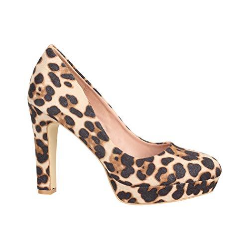 Elara dames pumps High Heels Vintage avondschoen Chunkyrayan
