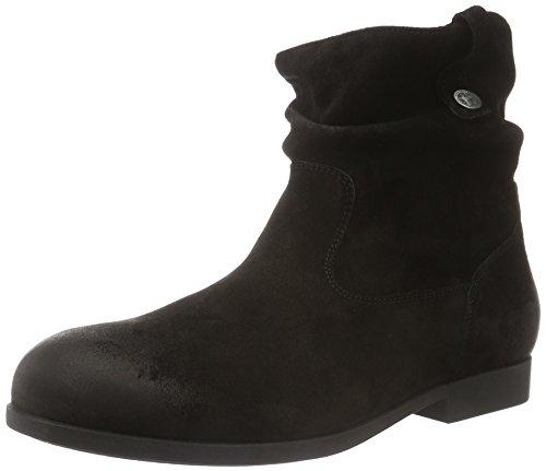 Birkenstock Shoes Damen Sarnia Kurzschaft Stiefel, Schwarz (Black), 38 EU