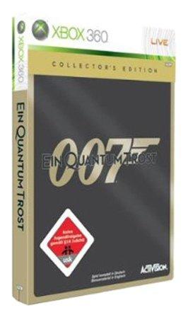 James Bond 007: Ein Quantum Trost - Das Spiel - Collector's Edition [Importación alemana]