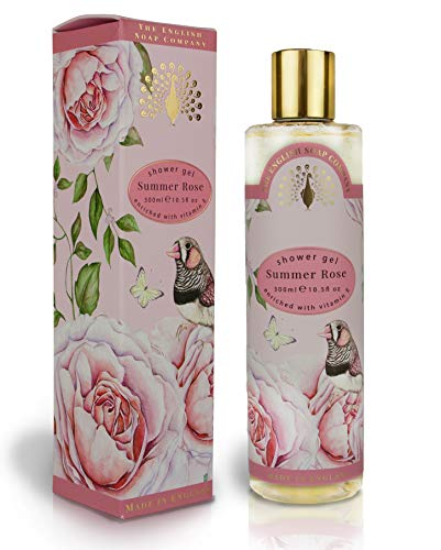 The English Soap Company, Summer Rose Shower Gel, 300mls