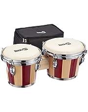 RockJam Bongo Drums Met Draagtas & Stemsleutel