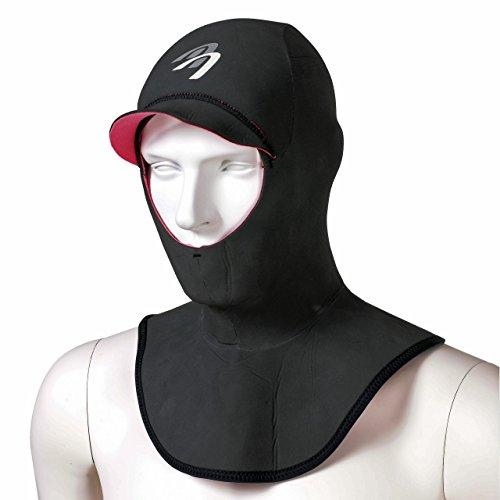 ASCAN Neoprenhaube Hood Comfort, XL, schwarz