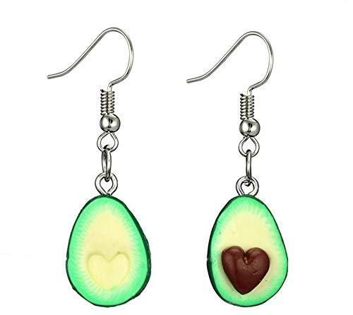jieGorge Earrings for Women , Miniature Food Green Avocado Friendship Jewelry Earrings BFF For Friends , Gifts for Women and Girls (Green)