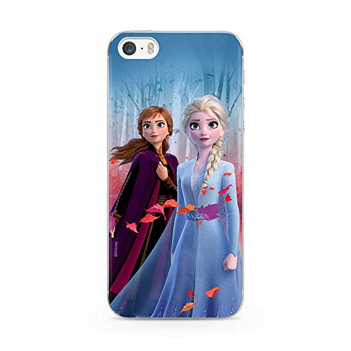 Ert Group DPCFROZEN3001 Custodia per Cellulare Disney Frozen 008 iPhone 5/5S/SE, Multicolore
