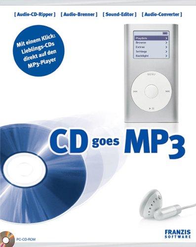 CD goes MP3. CD-ROM für Windows 98SE/ME/XPSP1&SP2.