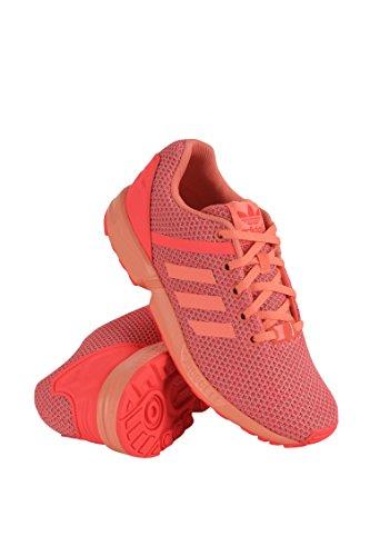 adidas AQ6292 Grade School ZX Flux Split K Sun Glow/RED