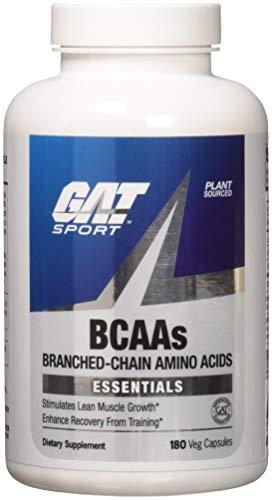 GAT Essentials BCAAs Capsules, 180-Count