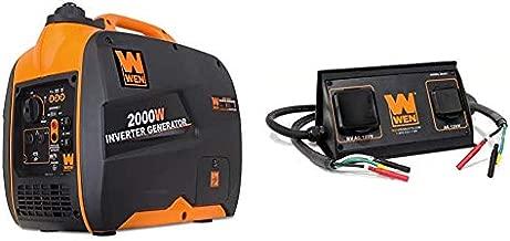 WEN 56200i 2000-Watt Gas Powered Portable Inverter Generator, CARB Compliant & 56421 30-Amp 3600-Watt Parallel Connection Kit for Inverter Generators