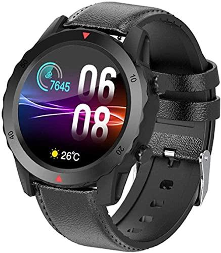 Reloj Inteligente Actividad Fitness Tracker Música Ritmo Cardíaco Completo Círculo Táctil Hombres Negocios Deportes Salud Continua Monitoreo de Frecuencia Cardíaca