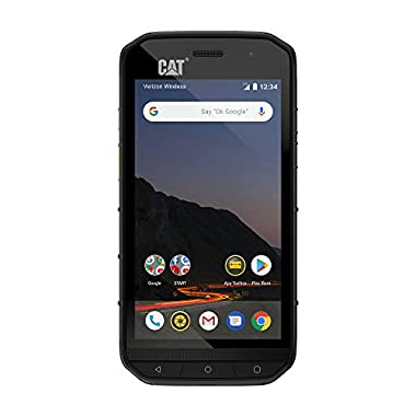 CAT PHONES S48c Unlocked Rugged Waterproof Smartphone, Verizon Network Certified (CDMA), U.S. Optimized (Single Sim…